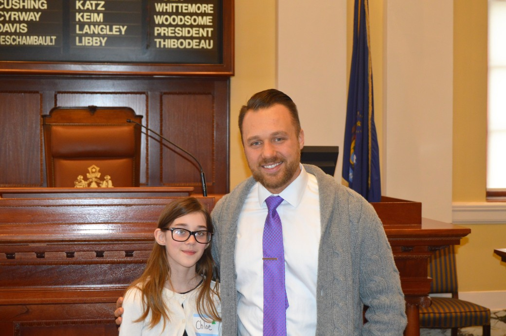 Geiger Elementary School Student Visits State House ...