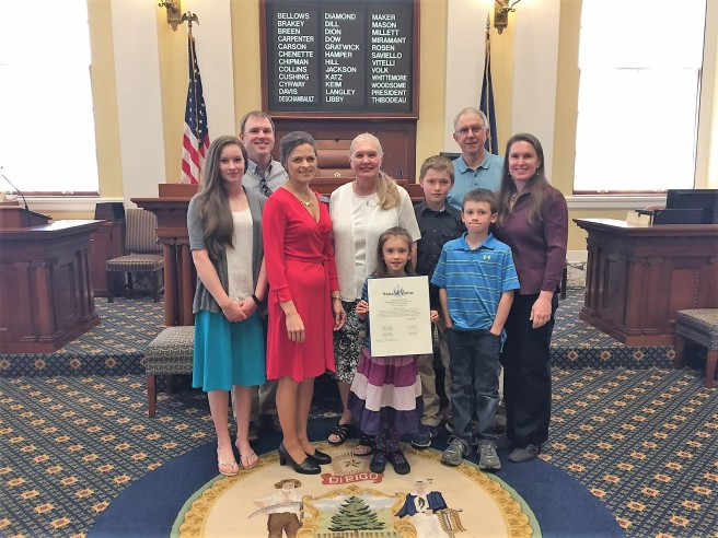 Sen. Keim with Ginny Todd and family.jpg