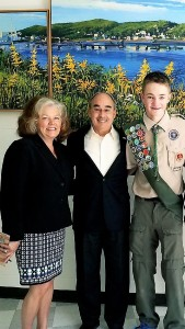Sen Rosen with Nicholas Prins and Congressman Poliquin