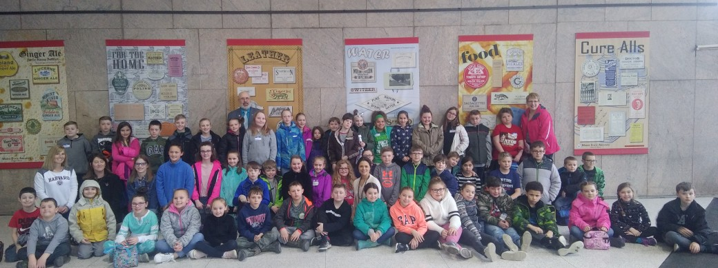 Students from Spruce Mountain Elementary School