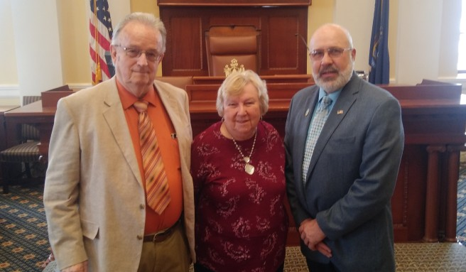 Reverend David Smith and Sally Smith, First Congregational Church in Wil...