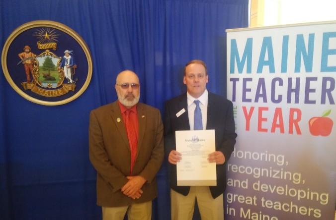 Senator Black with Maine Teacher of the Year Rob Taylor .jpg